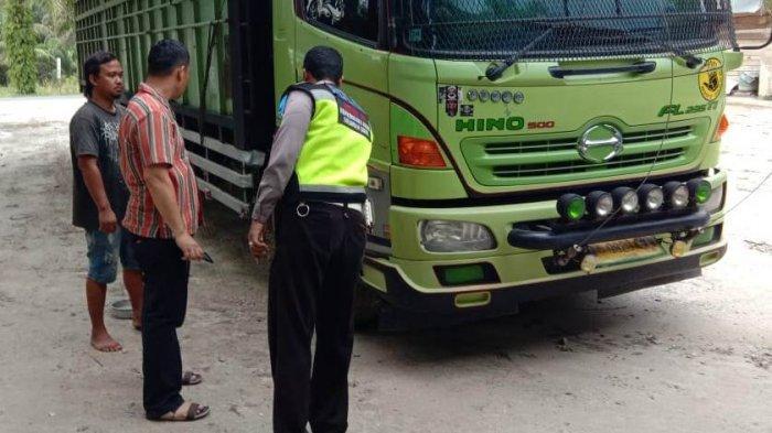 Laka Lantas di Jalintim Pangkalan Lesung, Dua Mahasiswi Asal Inhil Tewas di Tempat