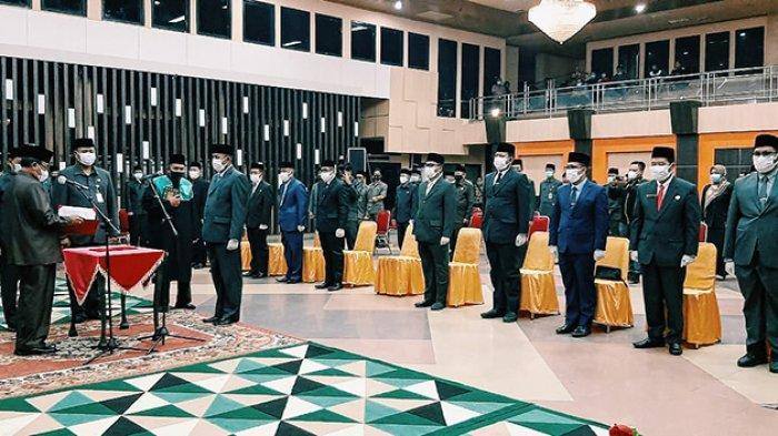 Wajah-wajah Baru Mendominasi,12 Posisi Jabatan Tinggi Pratama Pemkab Inhil Akhirnya Dilantik Bupati