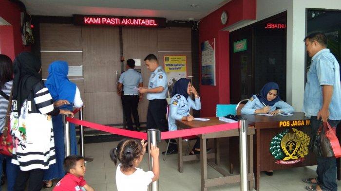 Usai Ditembaki Orang Tak Dikenal, Kunjungan di Lapas Pekanbaru Tetap Buka Pukul 09.00 WIB