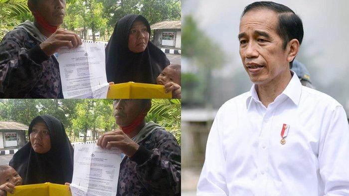Lapor Pak Jokowi! Wargamu Jalan Kaki 300 KM untuk Mudik Lebaran Usai Kena PHK, Bawa Balita Pula