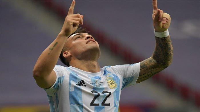 Bintang Inter Milan Lautaro Martinez Incar Top Skor Copa America 2021