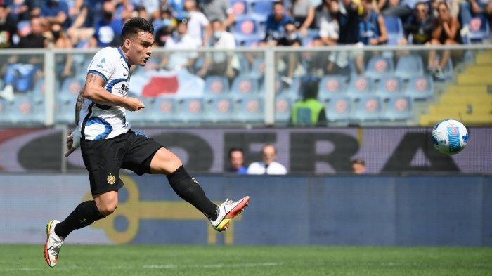 Liga Italia: Ditahan Imbang Sampdoria, Lautaro Martinez Malah Dapat Skor Terbaik di Inter Milan