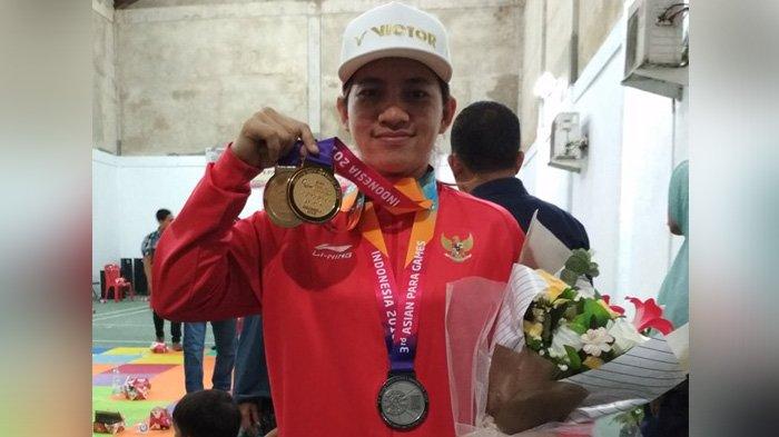 Peraih Medali Asian Para Games 2018 Ini Selalu Minta Dikirimi Dendeng Balado Saat Pelatnas