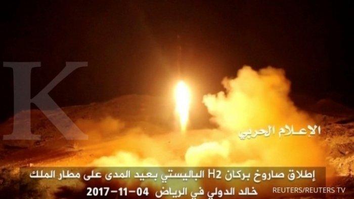 Iran Berkoalisi dengan Gerakan Houthi Yaman Lacarkan Serangan Drone ke Arab Saudi