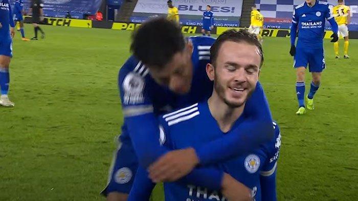 Leicester City vs Man United dalam liga inggris