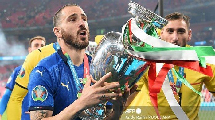 Italia Juara EURO 2020 karena Leonardo Bonucci Berhasil Cetak Dua Gol ke Gawang Inggris