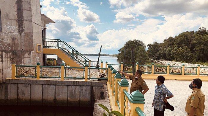 Spektakuler, Lift Menara Jembatan Tengku Agung Dibenahi Dinas PU Siak Jadi Destinasi Wisata Baru