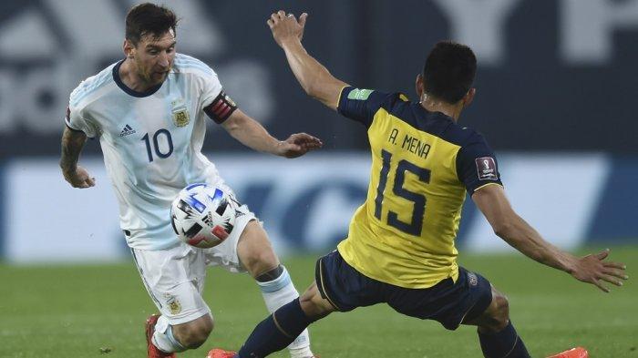 Tunjuk Skill, Lionel Messi bikin Pemain Uruguay Menanggung Malu, Argentina Melejit di Copa America