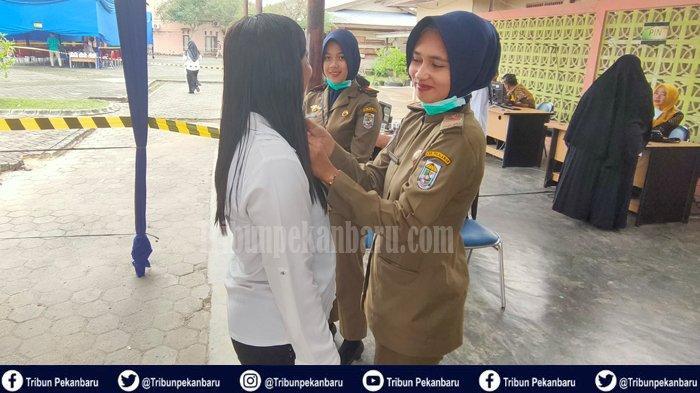 Ada 15 Peserta Tak Hadir, Hari Ketiga SKD CPNS Pelalawan Riau Digelar Empat Sesi