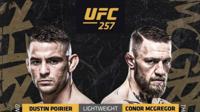 Link LIVE STREAMING Dustin Poirier vs Conor McGregor UFC 257 Pukul 12.00 WIB