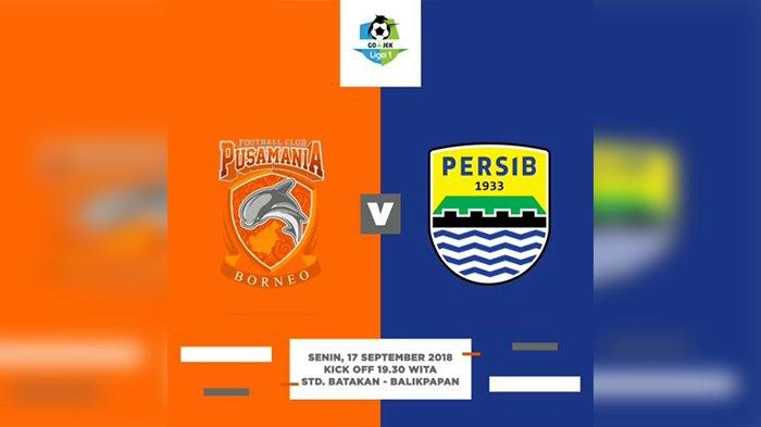 Live Streaming Borneo FC Vs Persib Bandung Kick Off 18.30 WIB,Pembuktian Konsistensi di Laga Usiran