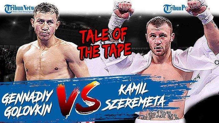 Link Streaming Golovkin Vs Szeremeta, Tonton Tinju Dunia Pertarungan Mempertahankan Dua Sabuk Juara