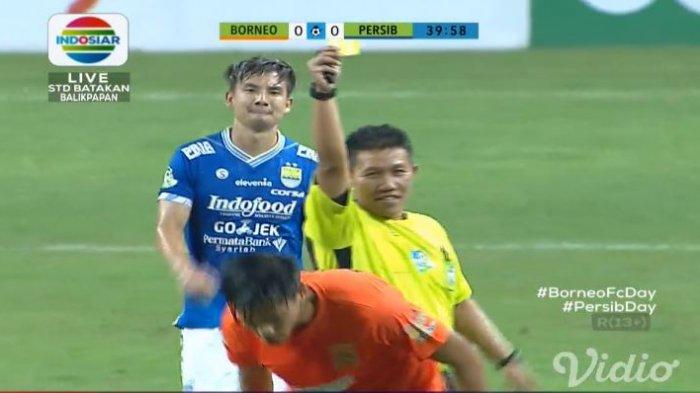 Hasil Babak 1 Borneo FC Vs Persib Bandung Liga 1 2018, Skor BerakhirImbang
