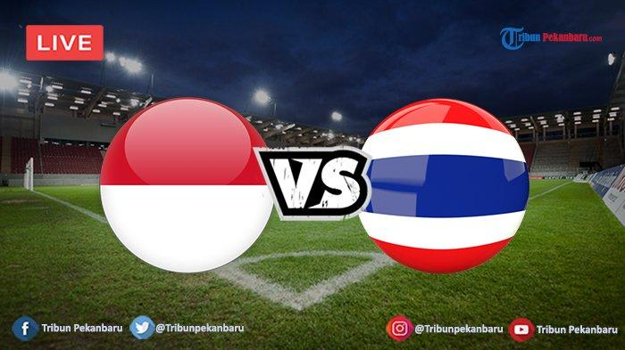 JADWAL Live Streaming Timnas Indonesia vs Thailand (Kualifikasi Piala Dunia 2022)