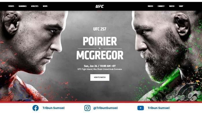 CARA Menonton Streaming UFC 257 McGregor vs Poirier, Minggu (24/1/2021): Streaming dari HP