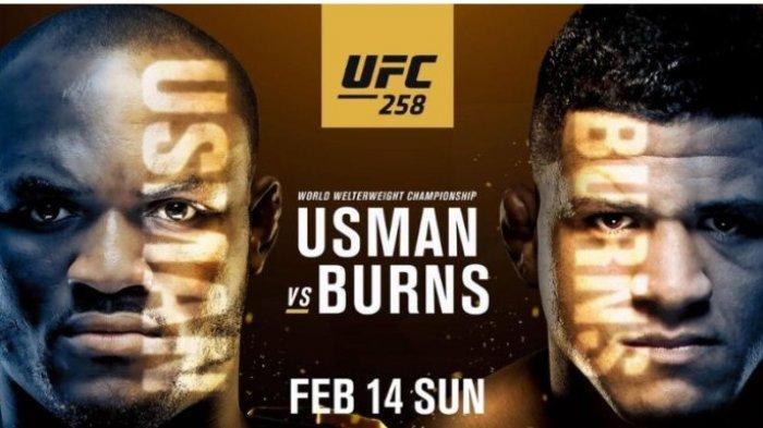 LIVE UFC 258, Usman Kamaru vs Gilbert Burns, Live ESPN Hari Ini