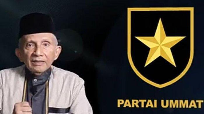Amien Rais dan Logo Partai Ummat