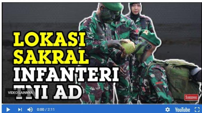Penampakan Lokasi Sakral TNI AD: Prajurit Infanteri Rindam I BB Dibaret Usai Pendidikan Militer
