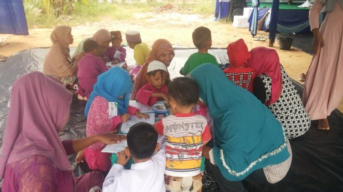 Anak-anak Antusias Ikuti Lomba 1 Muharram