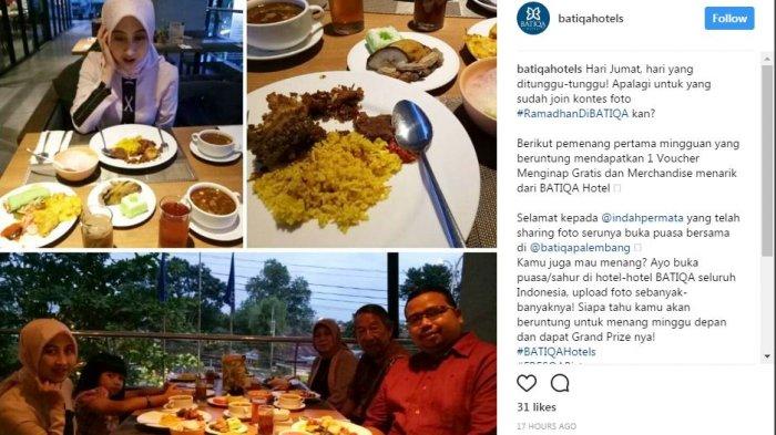 Batiqa Hotels Adakan Kontes Foto Momen Ramadhan
