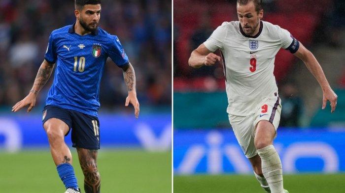 Final Euro 2020 Live Malam Ini, Berikut Prediksi Line Up Italia Vs Inggris