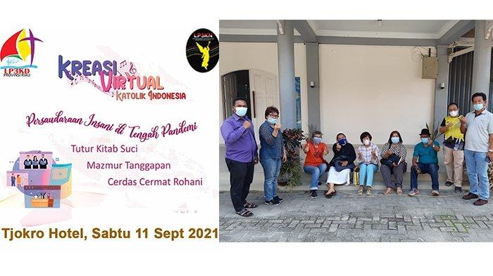 Kreasi Virtual Katolik Indonesia, Semangat Berkarya di Masa Pandemi: 13 Paroki se Riau Siap Tampil