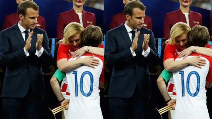 Begini Sosok Presiden Kroasia Kolinda Grabar-Kitarovic yang Curi Perhatian di Final Piala Dunia