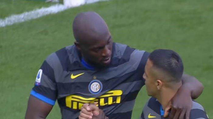 Gol 'Cantik' Dianulir, Romelu Lukaku Gagal Tambah Koleksi Gol untuk Inter Milan di Liga Italia