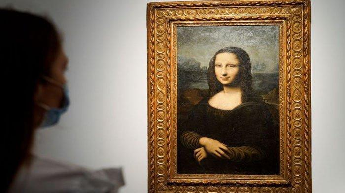 GILA! Lukisan Mona Lisa Palsu Dibeli Seharga Rp 51 Miliar