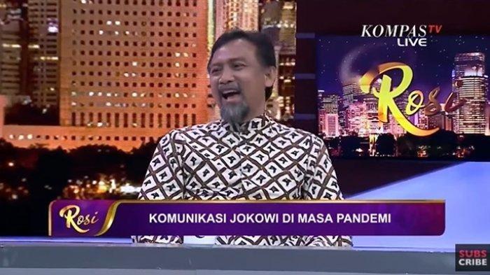 Andi Mallarangeng Tertawa Singgung Jokowi Turun Langsung ke Mal Tinjau New Normal. Sindri Jubirnya