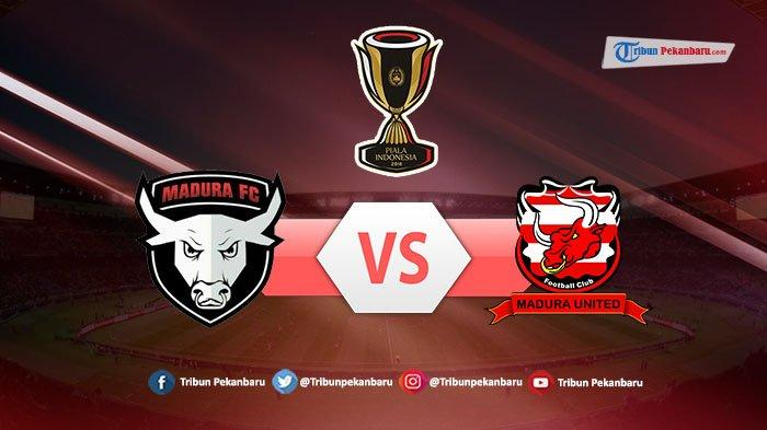 Susunan Pemain Madura FC Vs Madura United Babak 64 Besar Piala Indonesia, Derby Pulau Madura