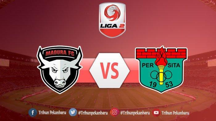 Hasil Babak 1 Madura FC Vs Persita Tangerang Babak 8 Besar Liga 2, Tim Tamu Unggul Sementara