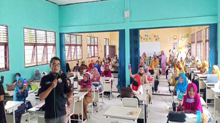 Mahasiswa dan Dosen Mengabdi, Latih Guru, Ajak Anak Gemar Membaca Alquran dan Inovasi Pembelajaran