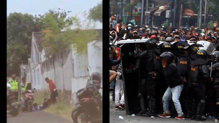 BEREDAR Video Mahasiswa Diculik Polisi saat Demo Tolak UU Cipta Kerja, Ini Kata Polisi