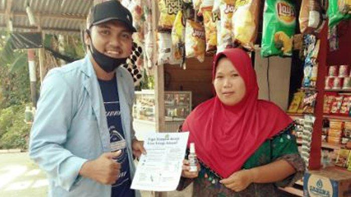 Mahasiswa Kukerta Relawan Covid-19 UNRI Edukasi Masyarakat Dalam Pencegahan Corona di Aceh
