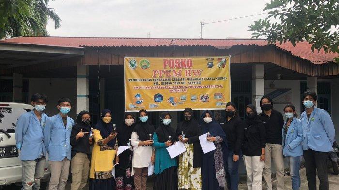 Mahasiswa Kukerta Universitas Riau Desa Kedung Sari Ajak Warga Buat Minuman Sehat Bandrek