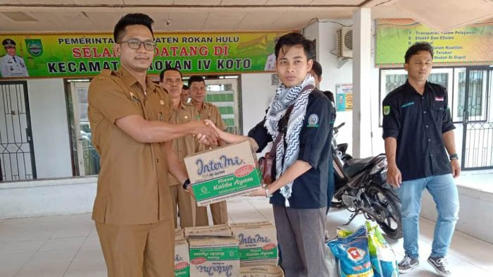 RPPM Rohul Gelar Bakti Sosial untuk Membantu Korban Banjir di Daerahnya