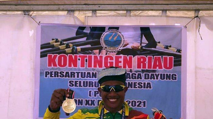 Emas Perdana Riau di PON 2021 Papua Diraih Atlet Dayung Maizir Riyondra, Pecahkan Rekor Nasional