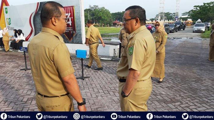 Puluhan Pegawai Dinas Pariwisata Riau Bolos Kerja. Wagubri: Saya Kecewa Sekali!