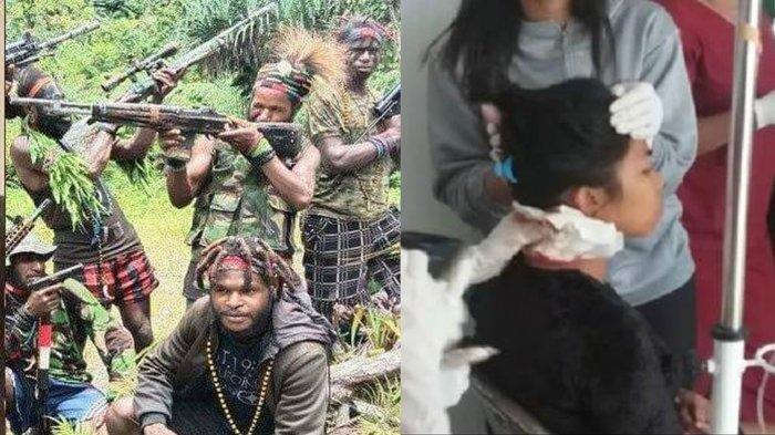 KKB OPM Semakin Brutal, Leher Mama Muda Di Papua Pun Ditebas Dari Belakang