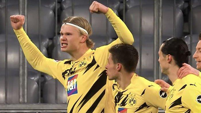 Man City dan Man United Rebutan Erling Haaland, Real Madrid dan Chelsea Siap Menikung, Siapa Dipilih