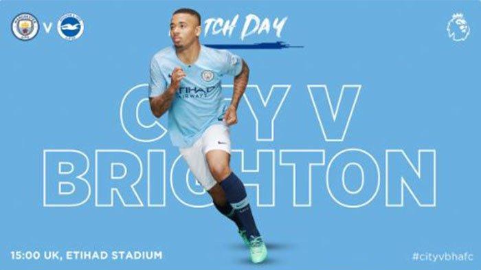 Cara Mudah Nonton Manchester City Vs Brighton Lewat Hape, Malam Ini Mulai Pukul 21.00 WIB