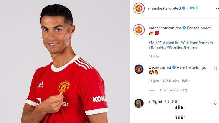 TERUNGKAP! Bak Kredit Motor, Manchester United Ternyata Cicil Ronaldo selama Lima Tahun