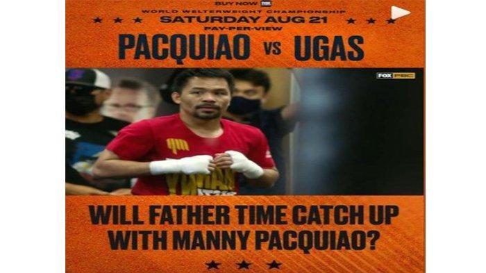 Manny Pacquiao vs Yordenis Ugas, Agenda Tinju Dunia Akhir Pekan Ini, Pacquiao: Dia Seorang Juara