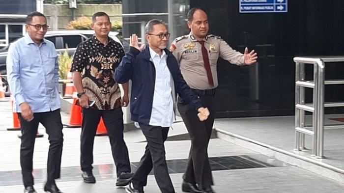 Zulkifli Hasan Diperiksa KPK, Ditanya Terkait Izin Alih Fungsi Hutan di Riau Hingga Annas Maamun