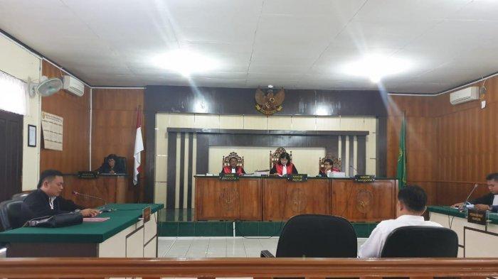 Mantan Anggota DPRD Bengkalis Yudi Jalani Sidang Perdana Kasus Lanjutan Bansos 2012 di Riau