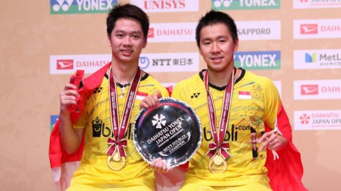 Hasil Indonesia Masters 2019, Kalahkan Ahsan/Hendra,Marcus/Kevin Juara