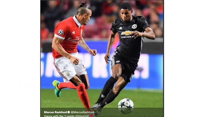 Hasil Liga Champions, Gol Rashford Beri Kemenangan untuk Manchester United