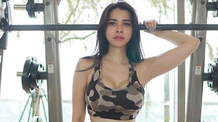 Maria Vania Pakai Bra Loreng, Bikin Kantuk Hilang dan Nafsu Makan Nambah, Pamer Body Goals Saat Gym
