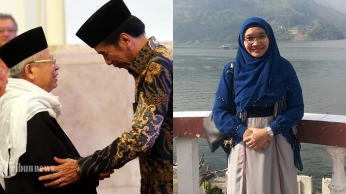 SosokWury Estu Handayani IstriMa'ruf Amin yang Awet Muda dan Murah Senyum